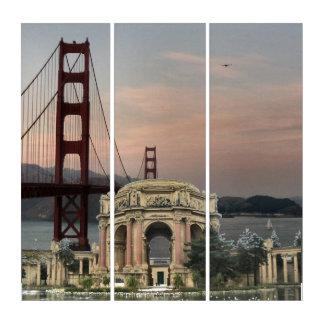 Golden Gate Bridge & Palace Of Fine Arts Triptych