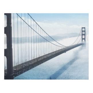 suspension bridge panel wall art zazzle. Black Bedroom Furniture Sets. Home Design Ideas