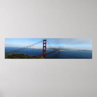 Golden Gate Bridge Panoramic Posters