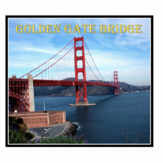 Golden Gate Bridge Acrylic Cut Outs