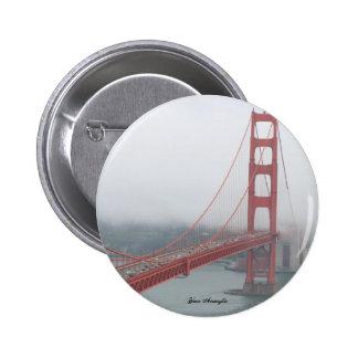 Golden Gate Bridge Pinback Button