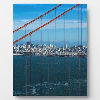 Golden Gate Bridge Plaque