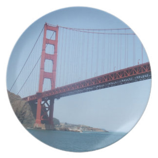 Golden Gate Bridge Plate