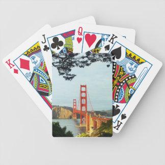 Golden Gate Bridge playing cards