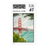 Golden Gate Bridge Postage Stamp