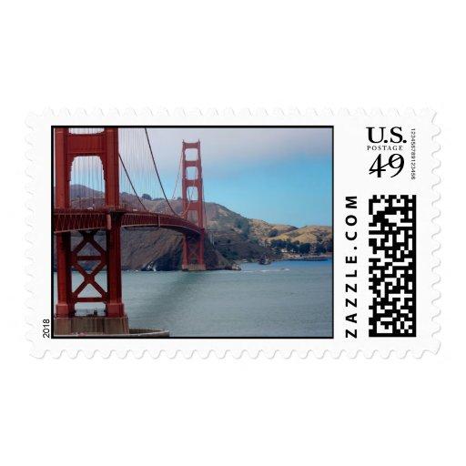 Golden Gate Bridge Postage Stamps