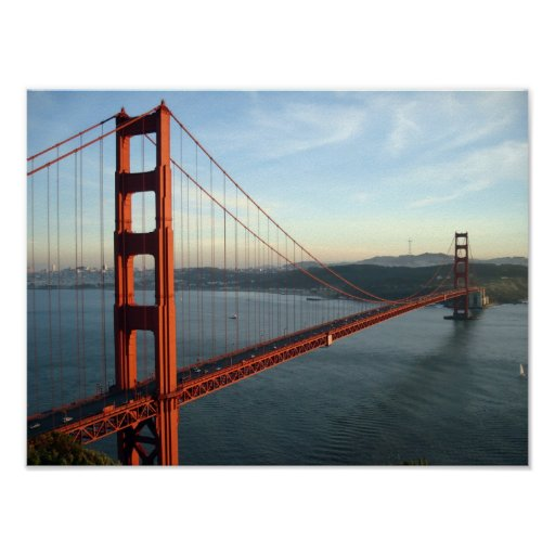 Golden Gate Bridge Poster Zazzle