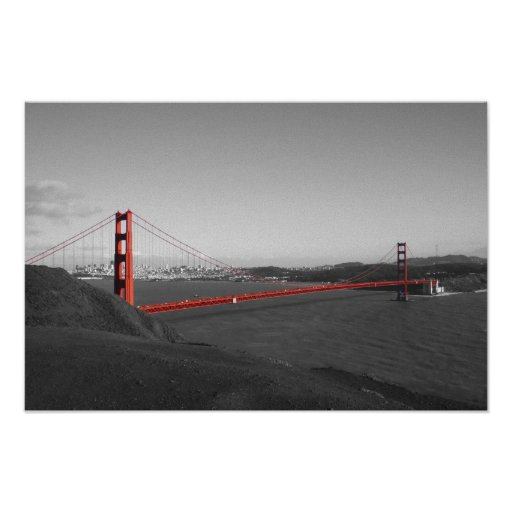 Golden gate bridge posters