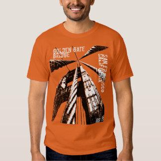 Golden Gate Bridge POV Design T Shirt