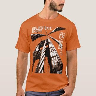 Golden Gate Bridge POV Design T-Shirt