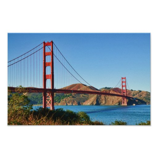 Golden Gate Bridge Print Zazzle