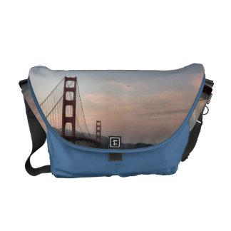 Golden Gate Bridge Rickshaw Messenger Bag