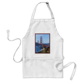 Golden Gate Bridge San Francisco Adult Apron