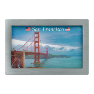 Golden Gate Bridge San Francisco Belt Buckle