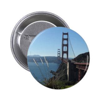Golden Gate Bridge- San Francisco Button