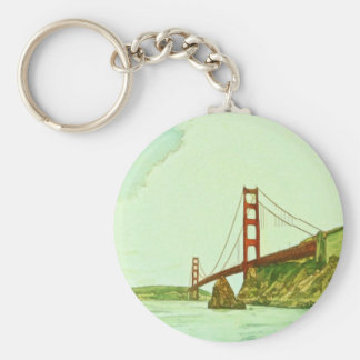 Golden Gate Bridge San Francisco by Shawna Mac Keychain