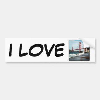 Golden Gate Bridge San Francisco CA Bumper Sticker