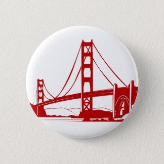 Golden Gate Bridge - San Francisco, CA Button