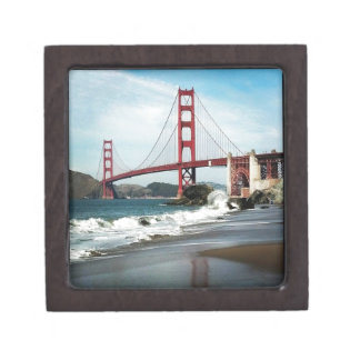 Golden Gate Bridge San Francisco CA Keepsake Box