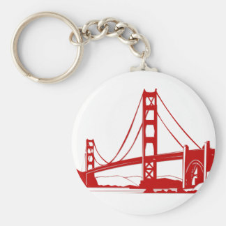 Golden Gate Bridge - San Francisco, CA Keychain