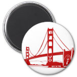 Golden Gate Bridge - San Francisco, CA Refrigerator Magnets