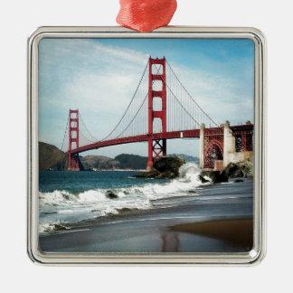 Golden Gate Bridge San Francisco CA Metal Ornament