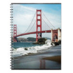 Golden Gate Bridge San Francisco CA Notebooks