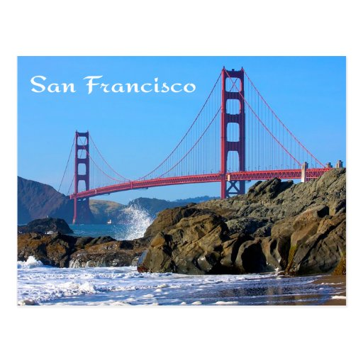 Golden Gate Bridge San Francisco Ca Postcard Zazzle