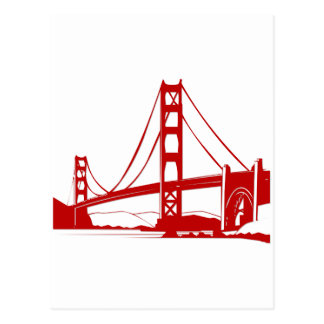 Golden Gate Bridge - San Francisco, CA Postcard