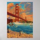 Golden Gate Bridge - San Francisco, CA Poster