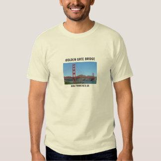 GOLDEN GATE BRIDGE - SAN FRANCISCO,CA T-SHIRT