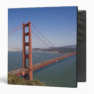 Golden Gate Bridge, San Francisco, California, 10 Vinyl Binders