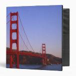 Golden Gate Bridge, San Francisco, California, 2 3 Ring Binder