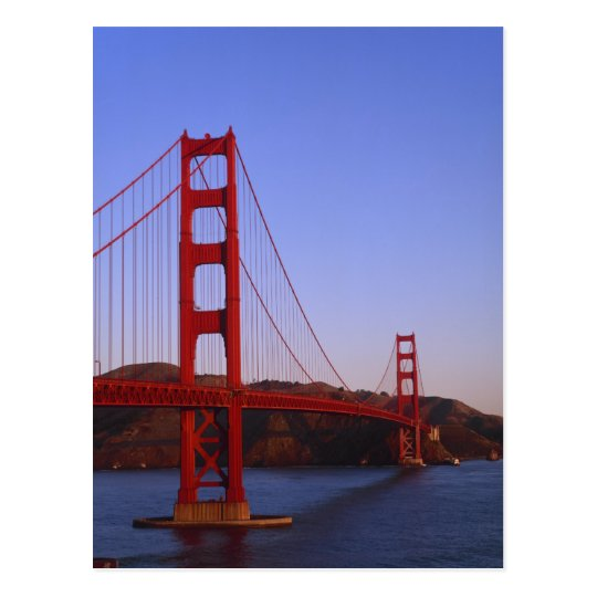Golden Gate Bridge, San Francisco, California, 2 Postcard