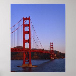 Golden Gate Bridge, San Francisco, California, 2 Poster