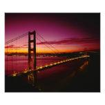 Golden Gate Bridge, San Francisco, California, 3 Photo Print