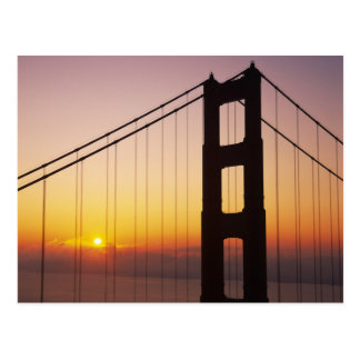 Golden Gate Bridge, San Francisco, California, 3 Postcard