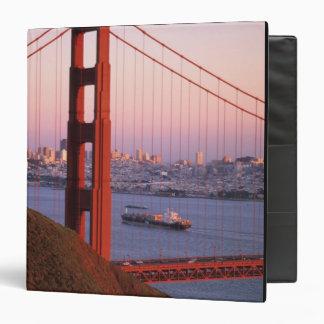 Golden Gate Bridge; San Francisco; California; 3 Ring Binder