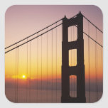 Golden Gate Bridge, San Francisco, California, 3 Stickers