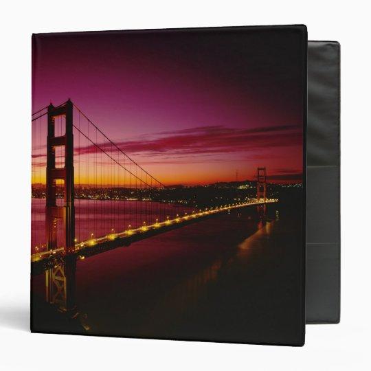 Golden Gate Bridge, San Francisco, California, 5 3 Ring Binder