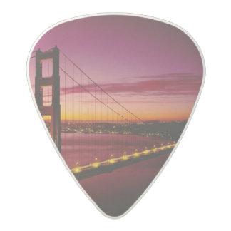 Golden Gate Bridge, San Francisco, California, 5 Acetal Guitar Pick