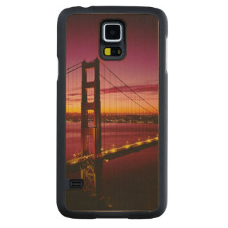 Golden Gate Bridge, San Francisco, California, 5 Carved® Maple Galaxy S5 Slim Case
