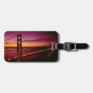 Golden Gate Bridge, San Francisco, California, 5 Bag Tags