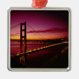 Golden Gate Bridge, San Francisco, California, 5 Metal Ornament