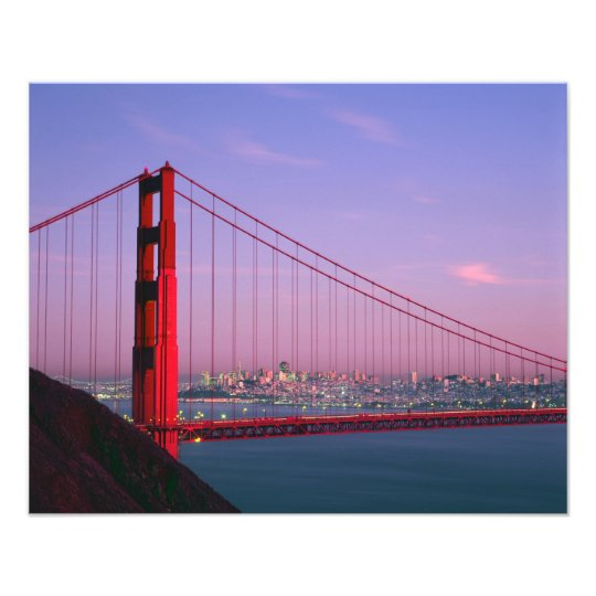 Golden Gate Bridge, San Francisco, California, 5 Photo Print