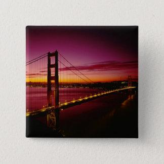 Golden Gate Bridge, San Francisco, California, 5 Pinback Button