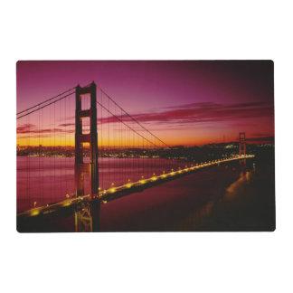 Golden Gate Bridge, San Francisco, California, 5 Placemat