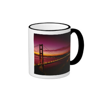 Golden Gate Bridge, San Francisco, California, 5 Ringer Coffee Mug