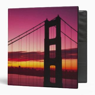 Golden Gate Bridge, San Francisco, California, 6 Vinyl Binder