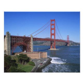 Golden Gate Bridge, San Francisco, California, 6 Photo Print